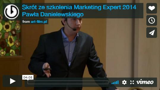Szkolenie Marketing Expert 2014