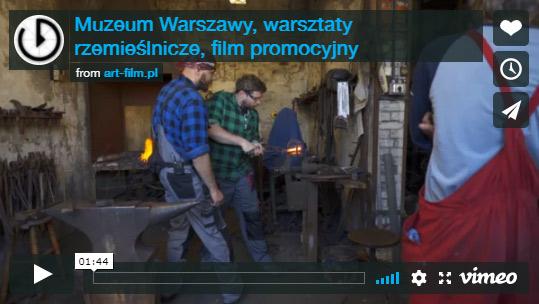 Muzeum Warszawy - warsztaty rzemieślnicze