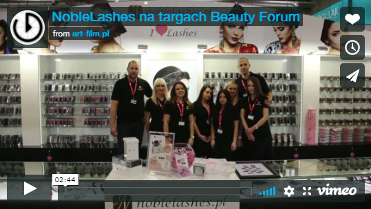 NobleLashes na targach Beauty Forum